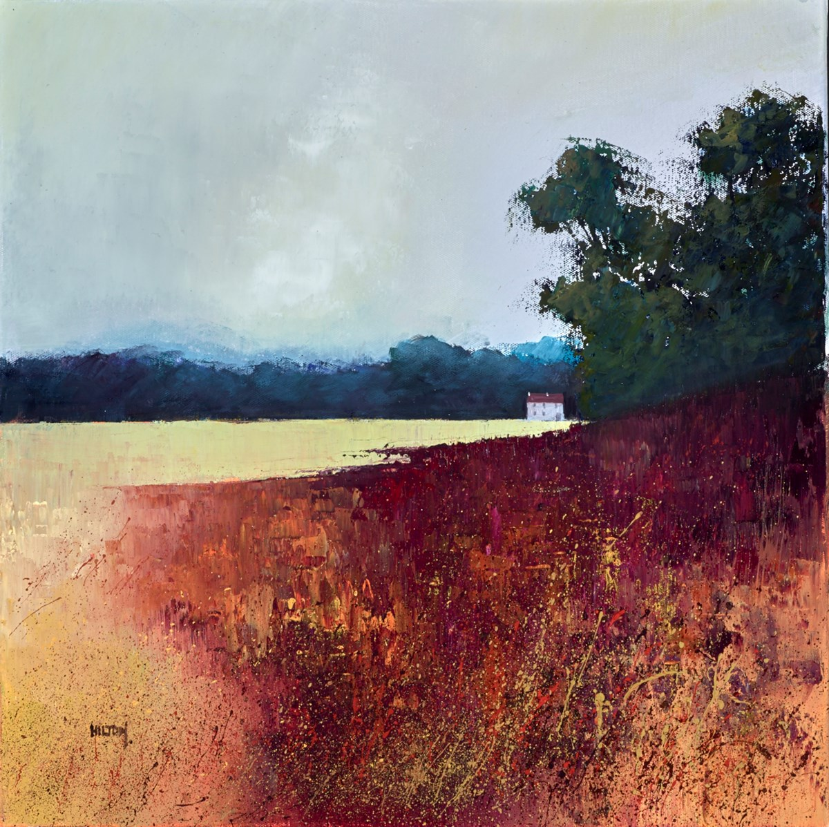 Seclusion by barry hilton -  sized 20x20 inches. Available from Whitewall Galleries